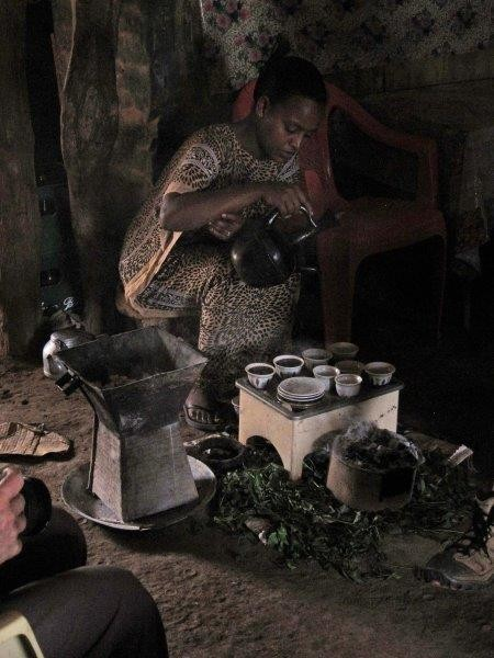 We may stop in a remote village to have some coffee prepared in the traditional way.