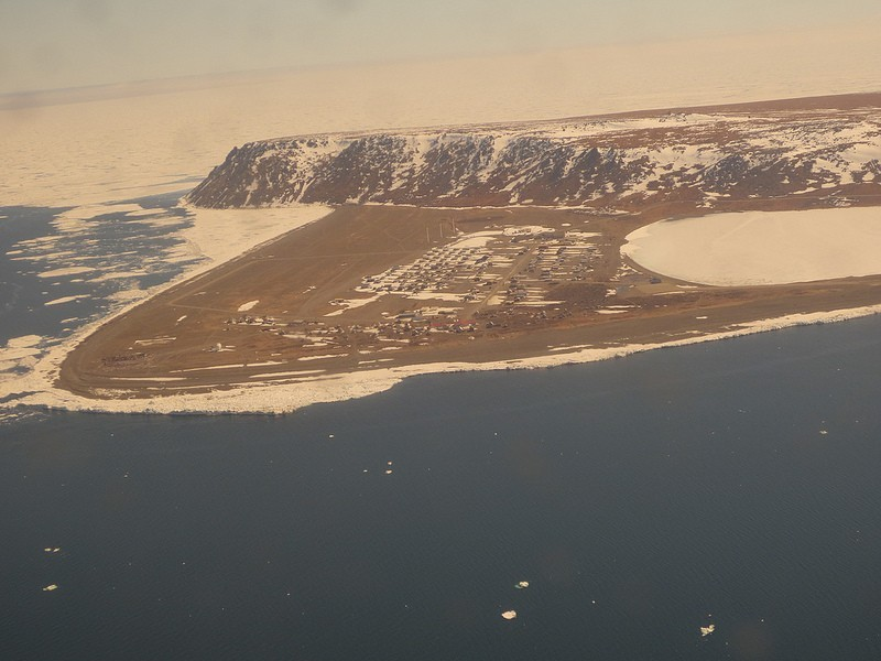 …to the Inupik village of Gambell at the northwest tip of St Lawrence Island.