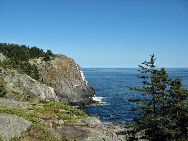 Monhegan itself is magical, from the high cliffs…