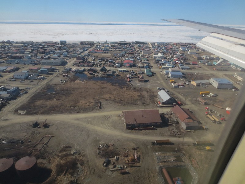 We'll be sad to leave Gambell but Nome is another remarkable place…