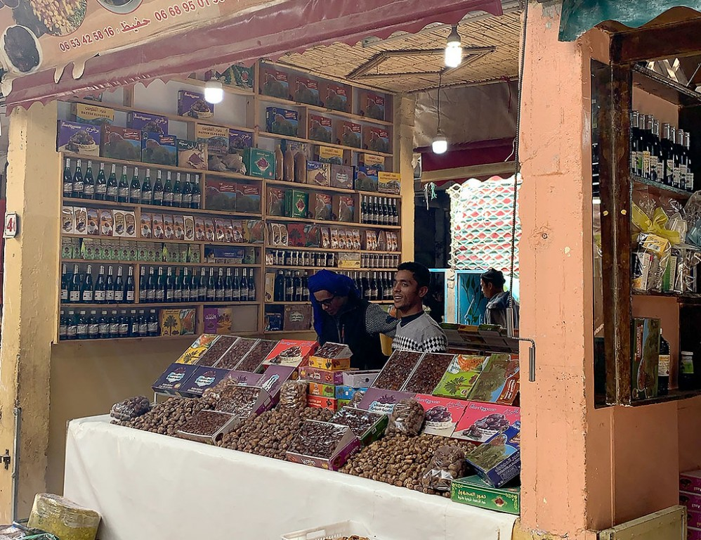 We'll also make several cultural stops, such as a trip to the Souk to buy some fresh dates… (SM)