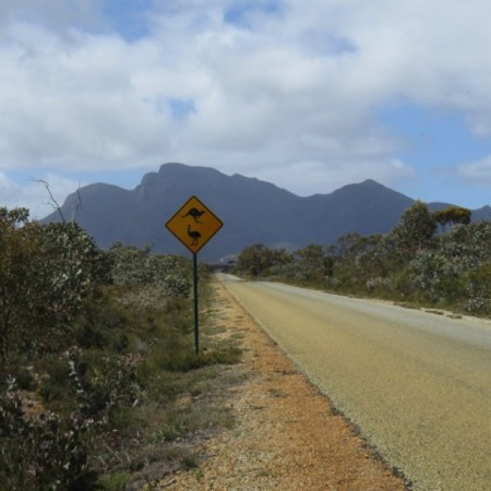 Further to the south we'll reach the beautiful Stirling Ranges,