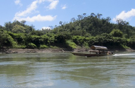 ...along the Usumacinta River, still an artery of commerce in the region.