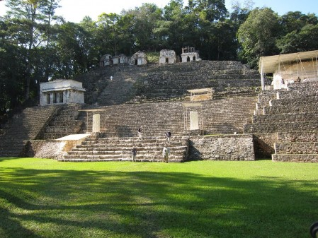 At Bonampak the temples hold some remarkable sights... (rh)