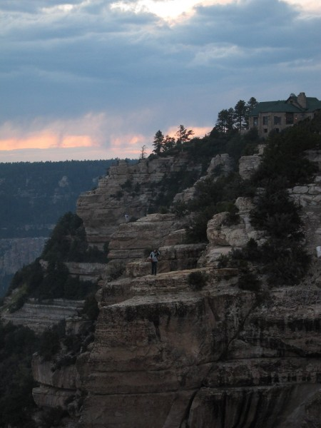 ...and on to our lodge perched on the north rim of the Grand Canyon...