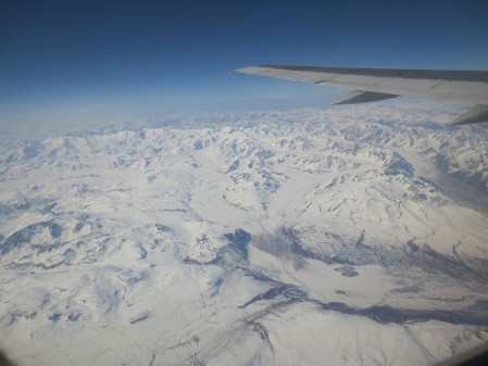 We'll depart Anchorage by air, heading west over the massive Alaska Range on our way to Nome...