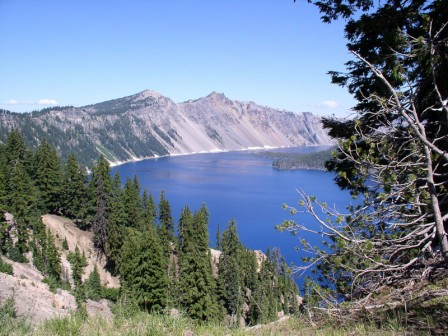 On our return to Ashland we'll drive around the stunningly beautiful Crater Lake, Oregon's only national park.