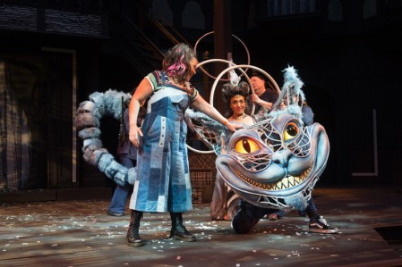 A majority of the plays each season are not Shakespeare and could include something like Alice in Wonderland… Photo credit: Oregon Shakespeare Festival