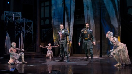 …we can find ourselves watching a world-class production of a play such as Macbeth. Photo credit: Oregon Shakespeare Festival